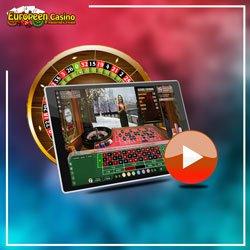Roulette live de casino